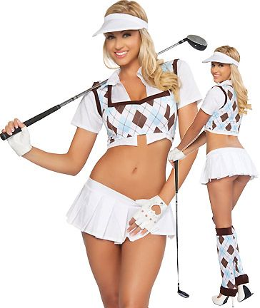 Sexy womens golf outfits