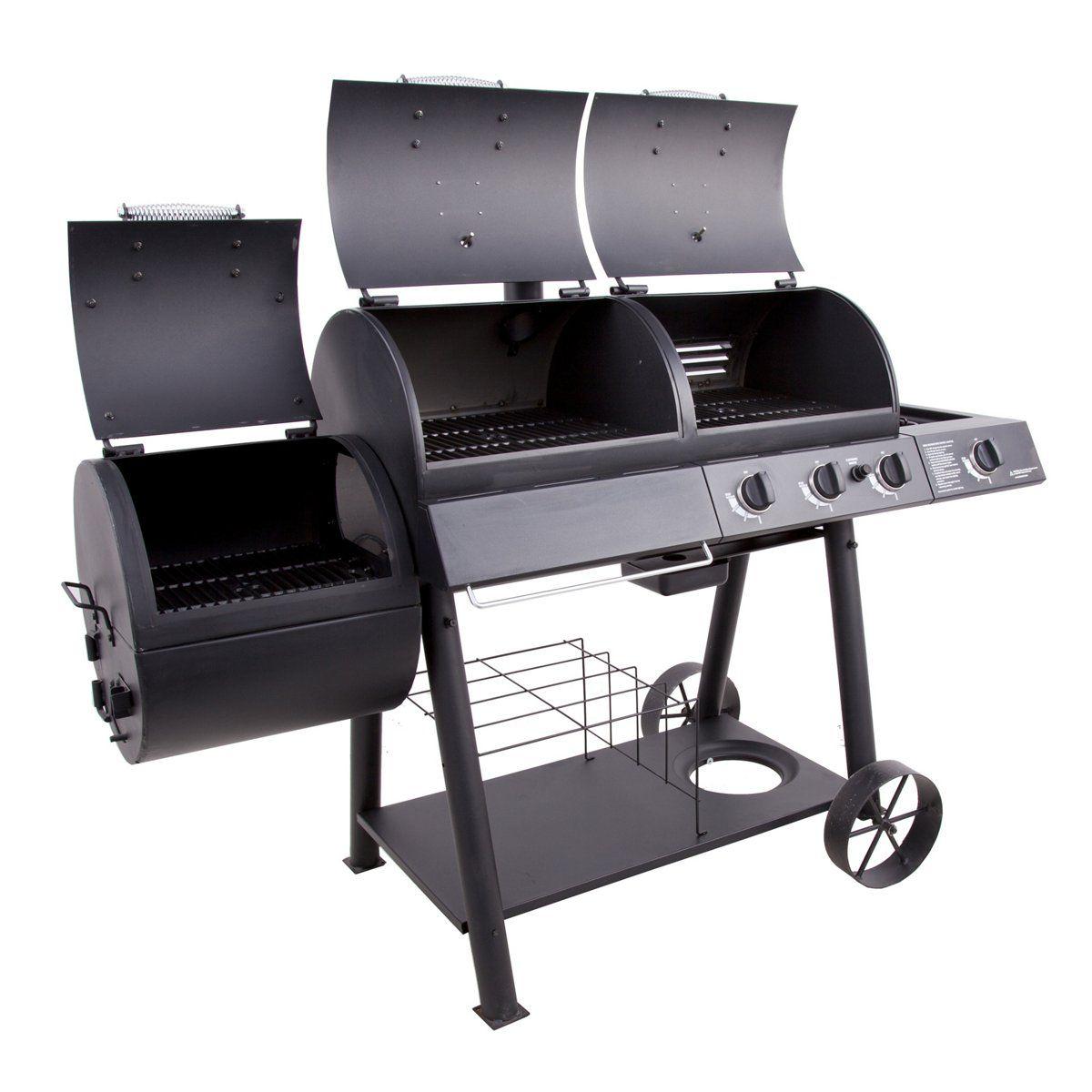 Oklahoma Joe's Longhorn Combo Grill and Smoker Bbq parts