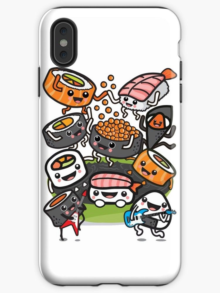 buy popular 13f90 10a70 Sushi Rock | iPhone Cases & Covers | @Redbubble | Sushi rock, Sushi ...