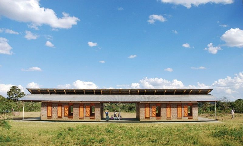 McAslan architect HANNAH LAWSON writes about her work in Africa ...