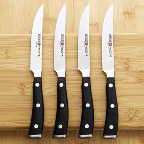 Wusthof Classic Ikon Steak Knife Set Chefscatalog Com