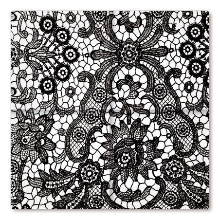 servietten schwarze spitze tattoo pinterest schwarze spitze servietten und schwarzer. Black Bedroom Furniture Sets. Home Design Ideas