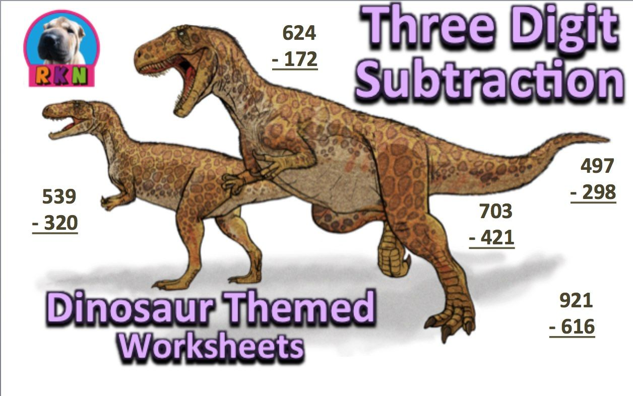 Three Digit Subtraction Worksheets