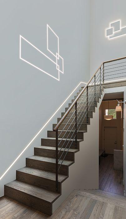 Lighting Basement Washroom Stairs: Application Photos: Indoor Lighting