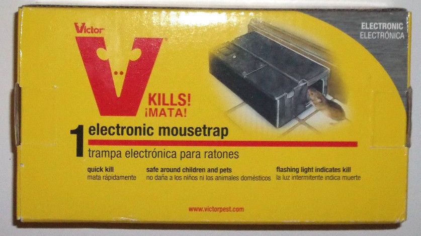 For The mice you don't want around -Victor Electronic Mouse 3 Traps M252 No Poisons Rodent Pest Control #Victor electronic traps #HUMANE kill delivers instant kill shock. Reusable  each catches at least 50 for with 4 AA batteries.COMPLETELY SAFE FOR CHILDREN  PETS TOO! This is our LAST Lot of 3 we have in stock at ThenAndAgainTreasures on #eBay
