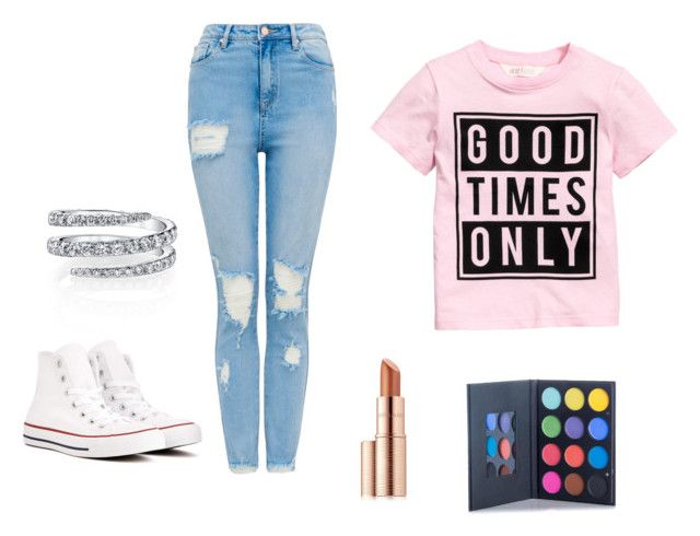 """CUTE"" by nevaeh678 on Polyvore featuring Converse and Estée Lauder"