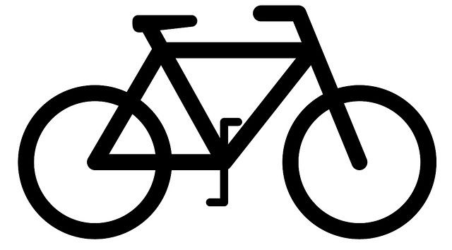 Bike Silhouette Bike Silhouette Bike Art Bicycle Sign