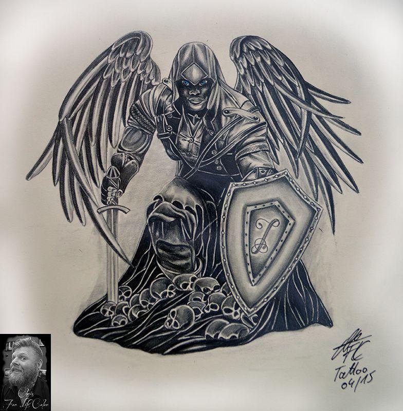 Artwork - Racheengel #artworkchris #sketch
