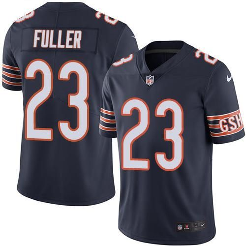 7e5e0ff0a Nike Bears  23 Kyle Fuller Navy Blue Men s Stitched NFL Limited Rush Jersey