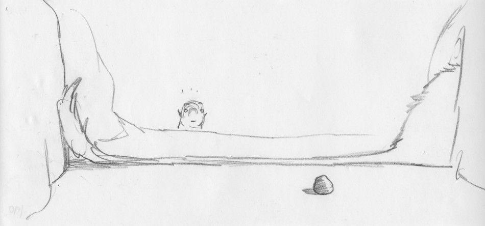 Chris Sanders - The Crood Storyboard