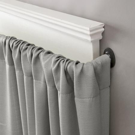 Curtains Ideas curtain rod walmart : Eclipse Room Darkening Blackout Wrap Curtain Rod | Wraps, Curtains ...