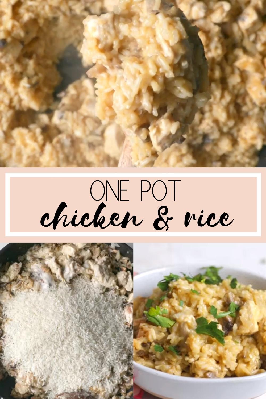 One Pot Chicken & Rice Casserole (VIDEO