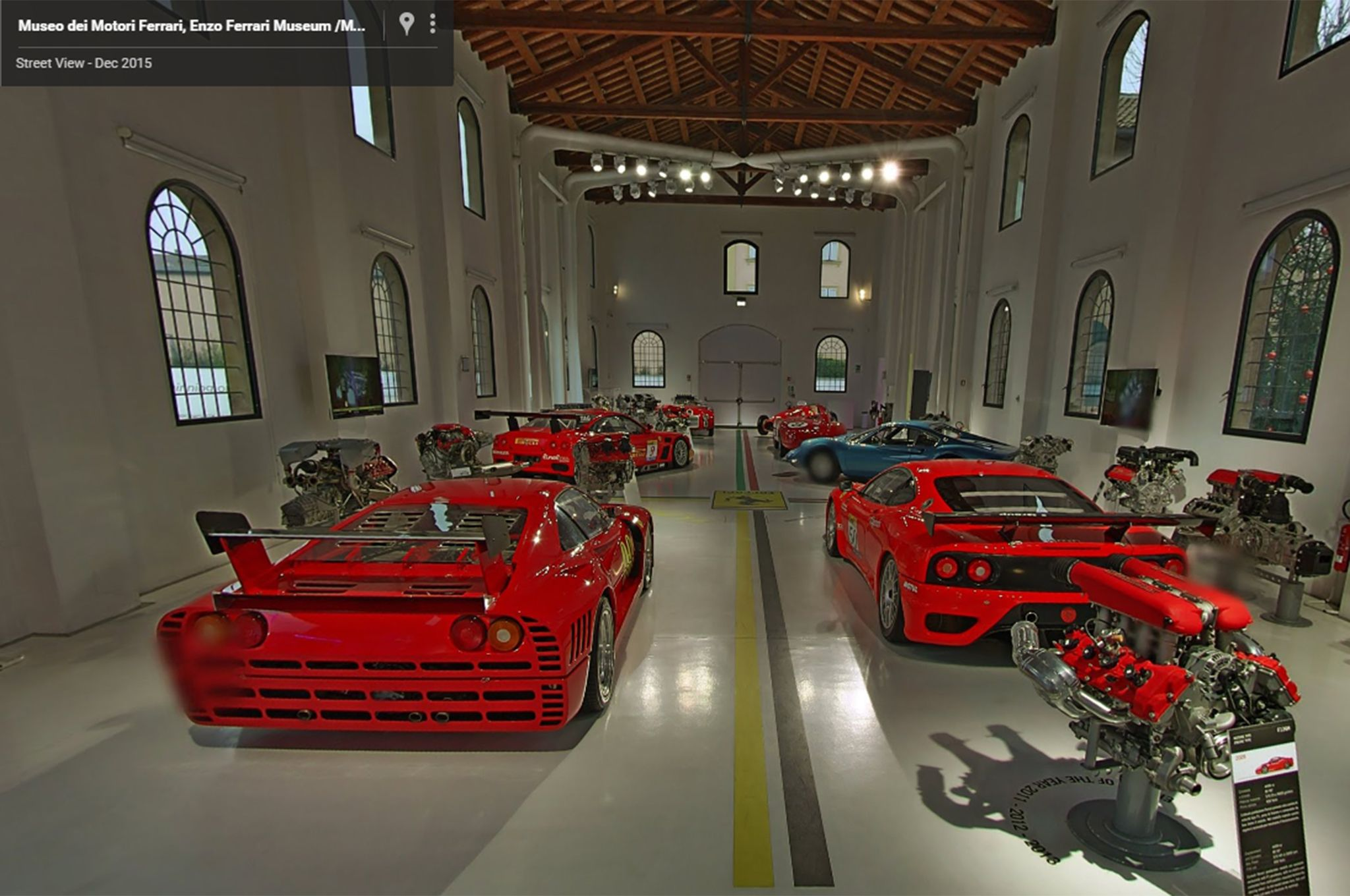 Garage Automobile Tours Take Three Virtual Tours Of Ferrari Museums In Google Street View