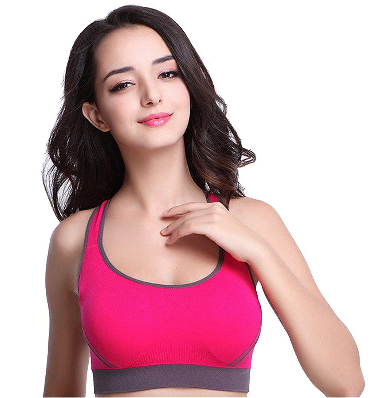 Ya Lida No rims sports vest yoga fitness girl