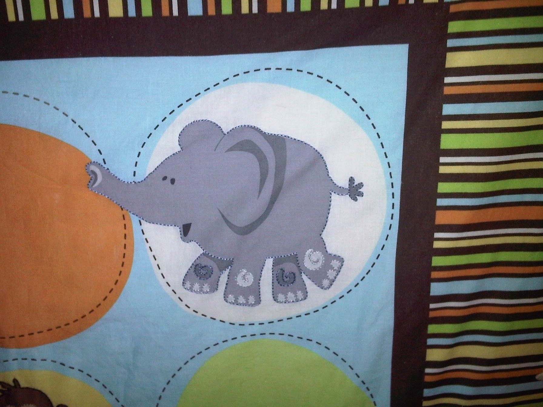 Elephant For Baby Blanket