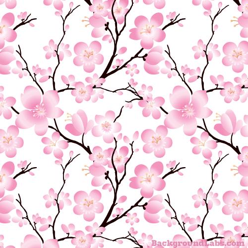 Cherry Blossom Seamless Background Background Labs Cherry Blossom Wallpaper Blossoms Art Cherry Blossom Print
