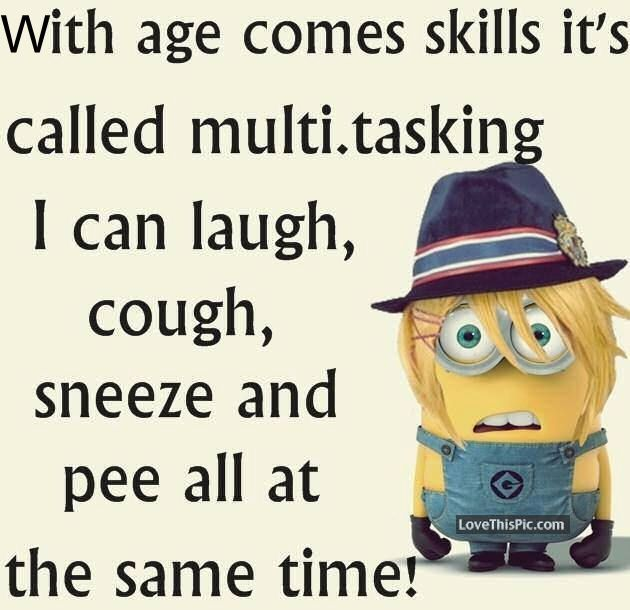 Funny Minion Quote About Multitasking Pictures, Photos, and Images for Facebook, Tumblr, Pinterest, and Twitter