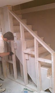 Best Framing Stairs Basement Redo Ideas In 2019 Treppe 400 x 300