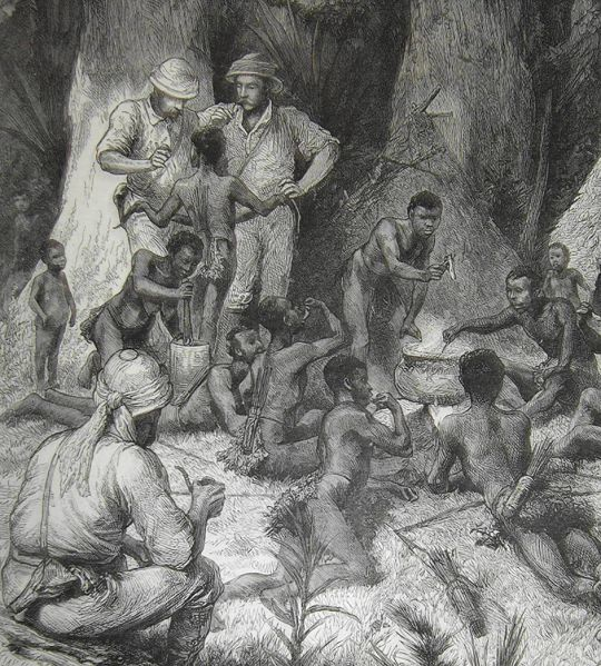 Henry Morton Stanley and the Pygmies of u201cDarkest Africau201d eating - Dr Livingston I Presume