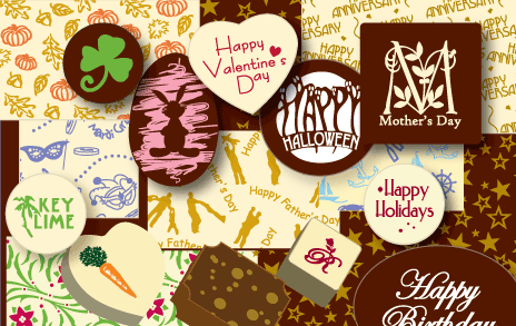 This Site Can Make Custom Chocolate Transfer Sheets For Your