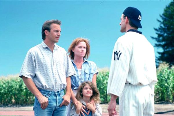 Field of Dreams - Kostner and James Earl Jones or I would never have watched it. Great  Movie