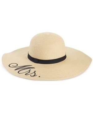 75aaac06f02cf1 Blue by Betsey Johnson Mrs. Floppy Hat - Tan/Beige | Products | Blue ...