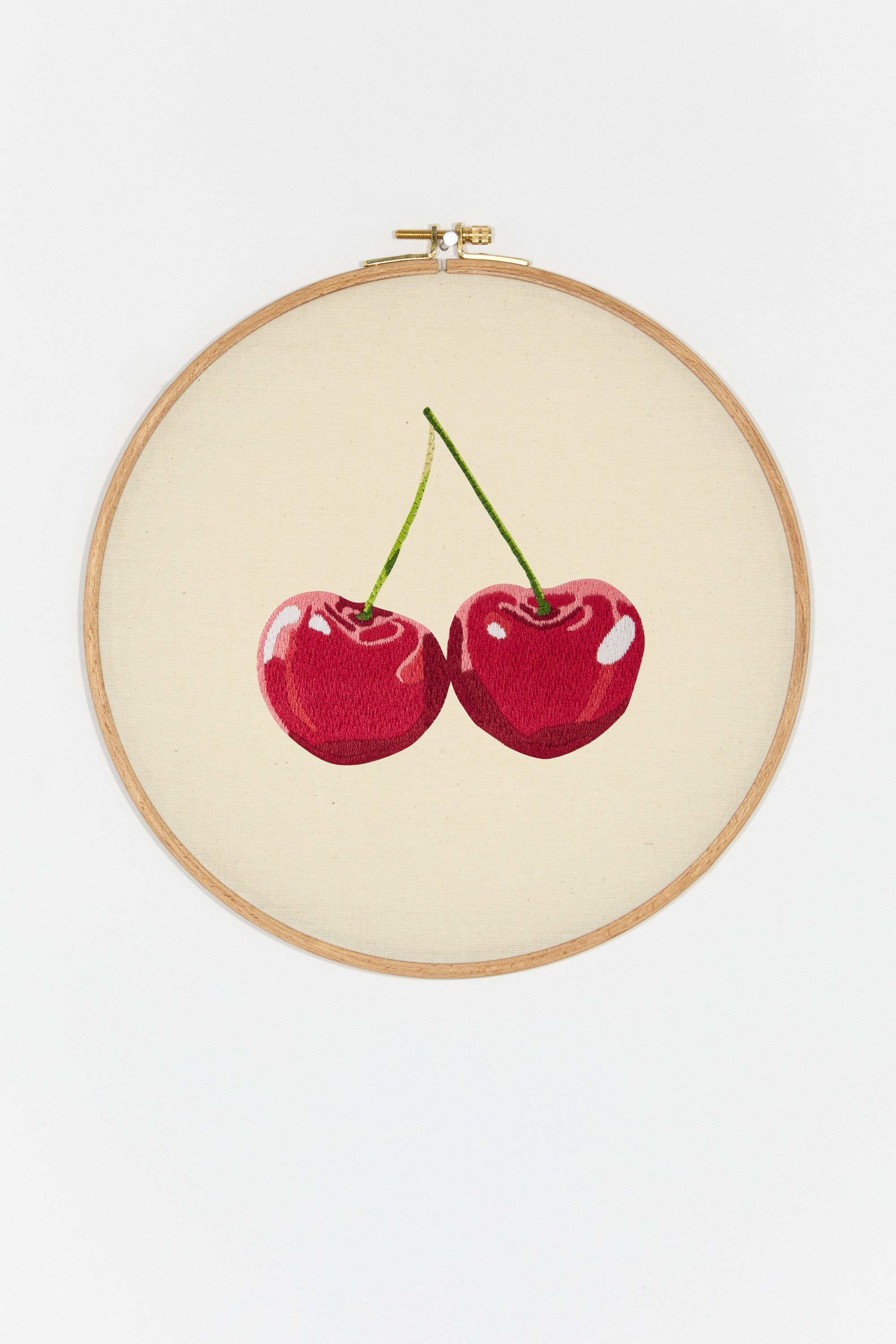 Cherries Pattern In 2020 Free Embroidery Embroidery