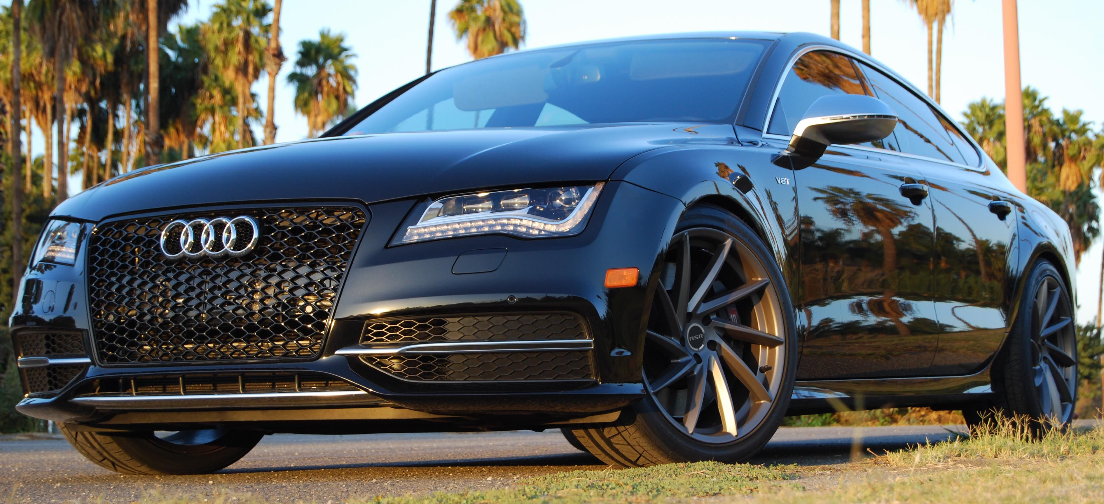 Genial Audi S7 With RSR R701 Tugsten Grey Wheels