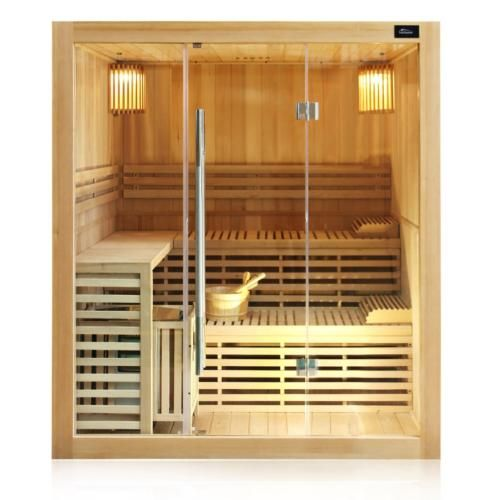 details zu tronitechnik finnische traditionelle sauna saunakabine ecksauna massiv harvia sauna. Black Bedroom Furniture Sets. Home Design Ideas
