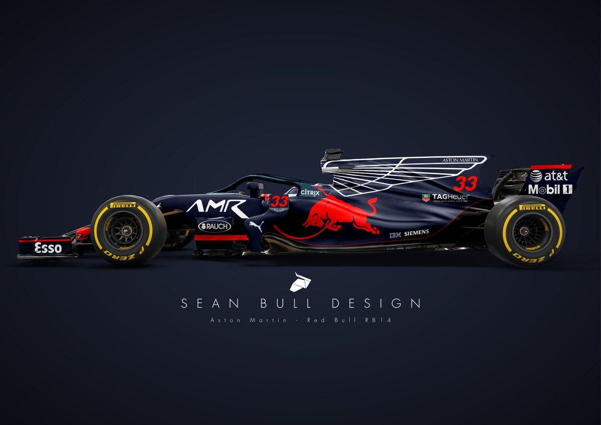 Red Bull Racing And Aston Martin Are Ramping Up Their Relationship Next Season With The Luxury Car Maker Becoming The Team Red Bull Racing Racing Aston Martin
