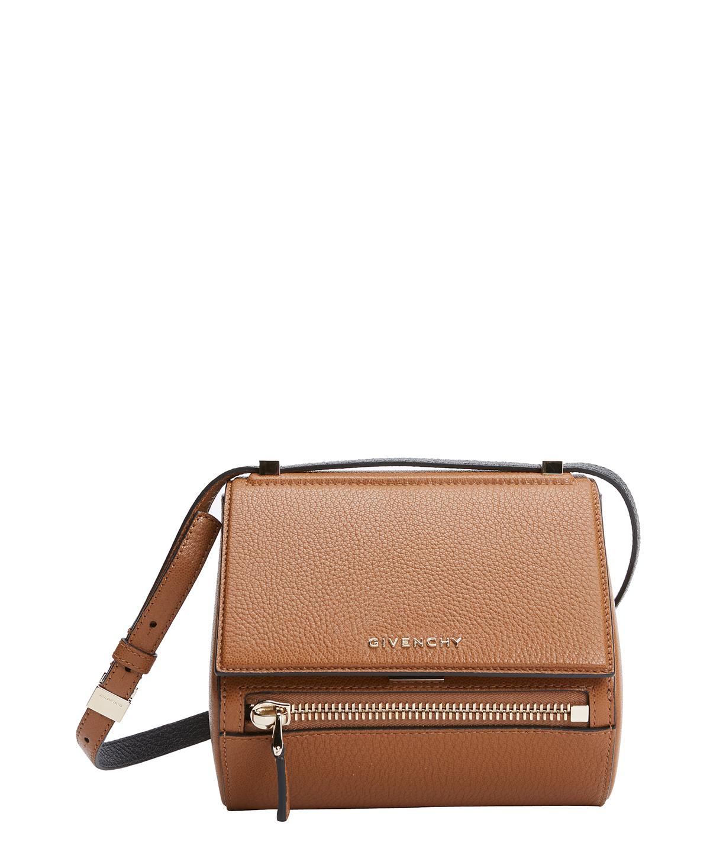 GIVENCHY Pony Brown Calfskin  Pandora Box  Mini Shoulder Bag .  givenchy   bags  shoulder bags  lining  suede   03575d7075e9a