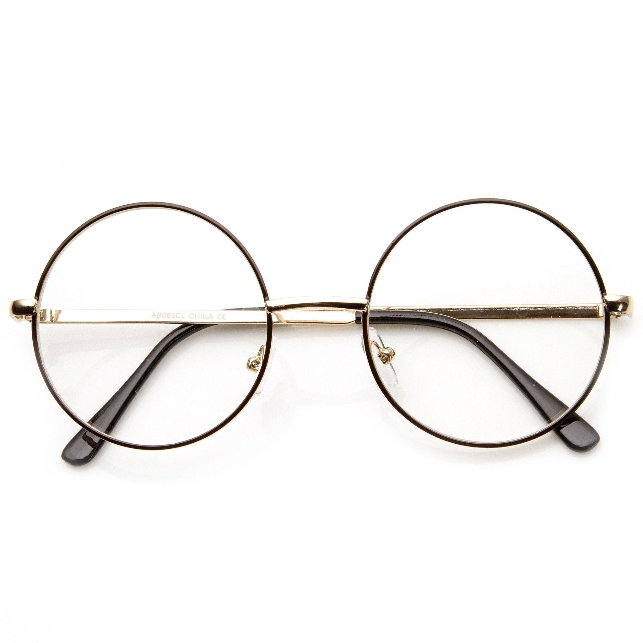 5acd2680562 Vintage Round Prescription Glasses