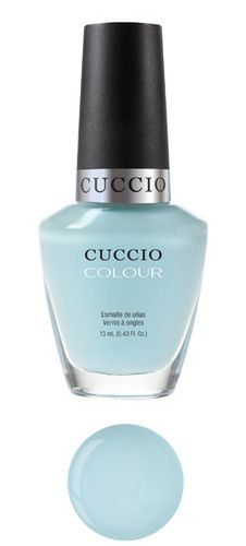 Cuccio Colour Mykonos Light Blue Shimmer Professional Nail Varnish Polish 13ml | eBay