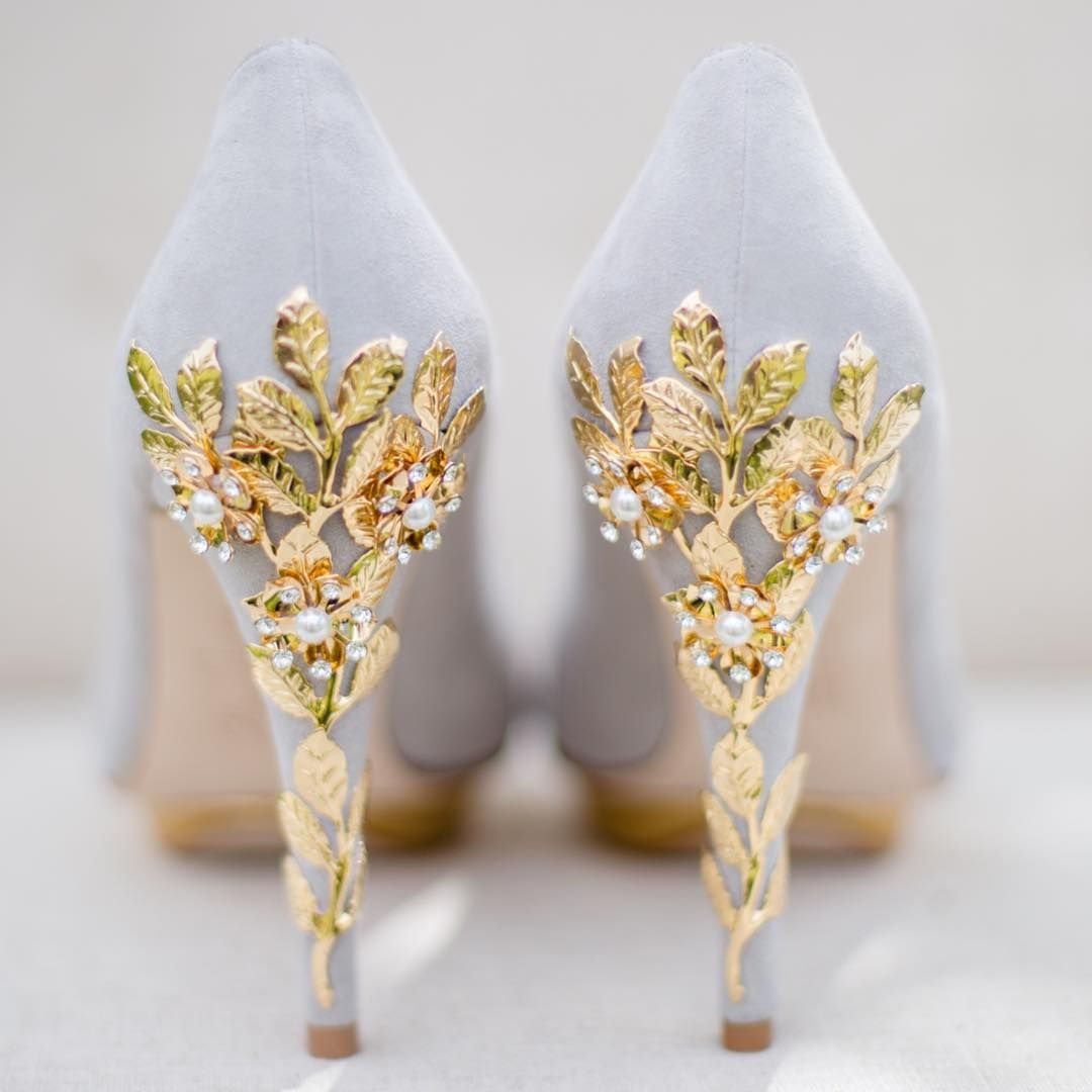 Harriet Wilde Shoes On Instagram Bridgette Gold Cherry Pretty Special Shot By Cecelinaphotography Taken On A Beaut Wedding Shoes Bridal Shoes Prom Shoes