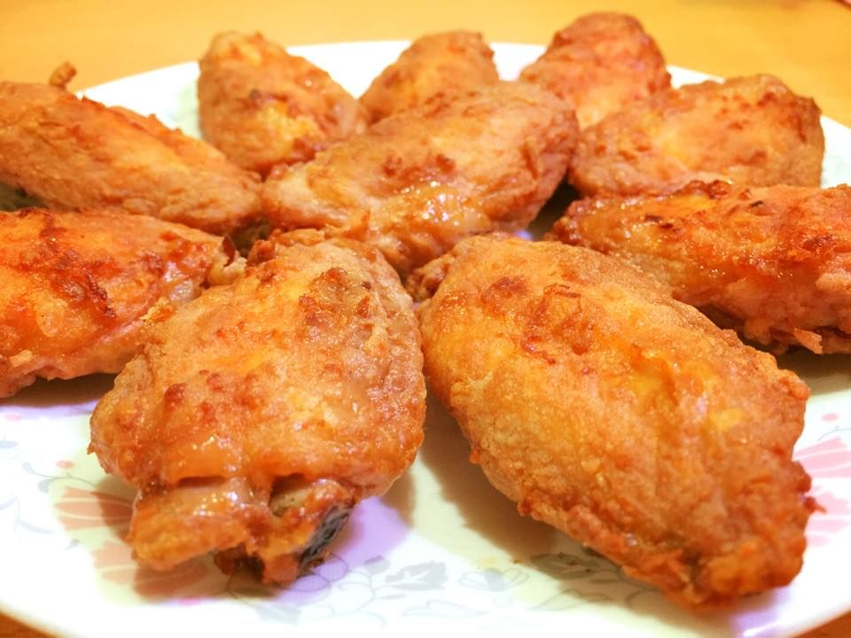 Airfried Nam Yee Mid Joint Chicken Wings By Michelle Heng Air