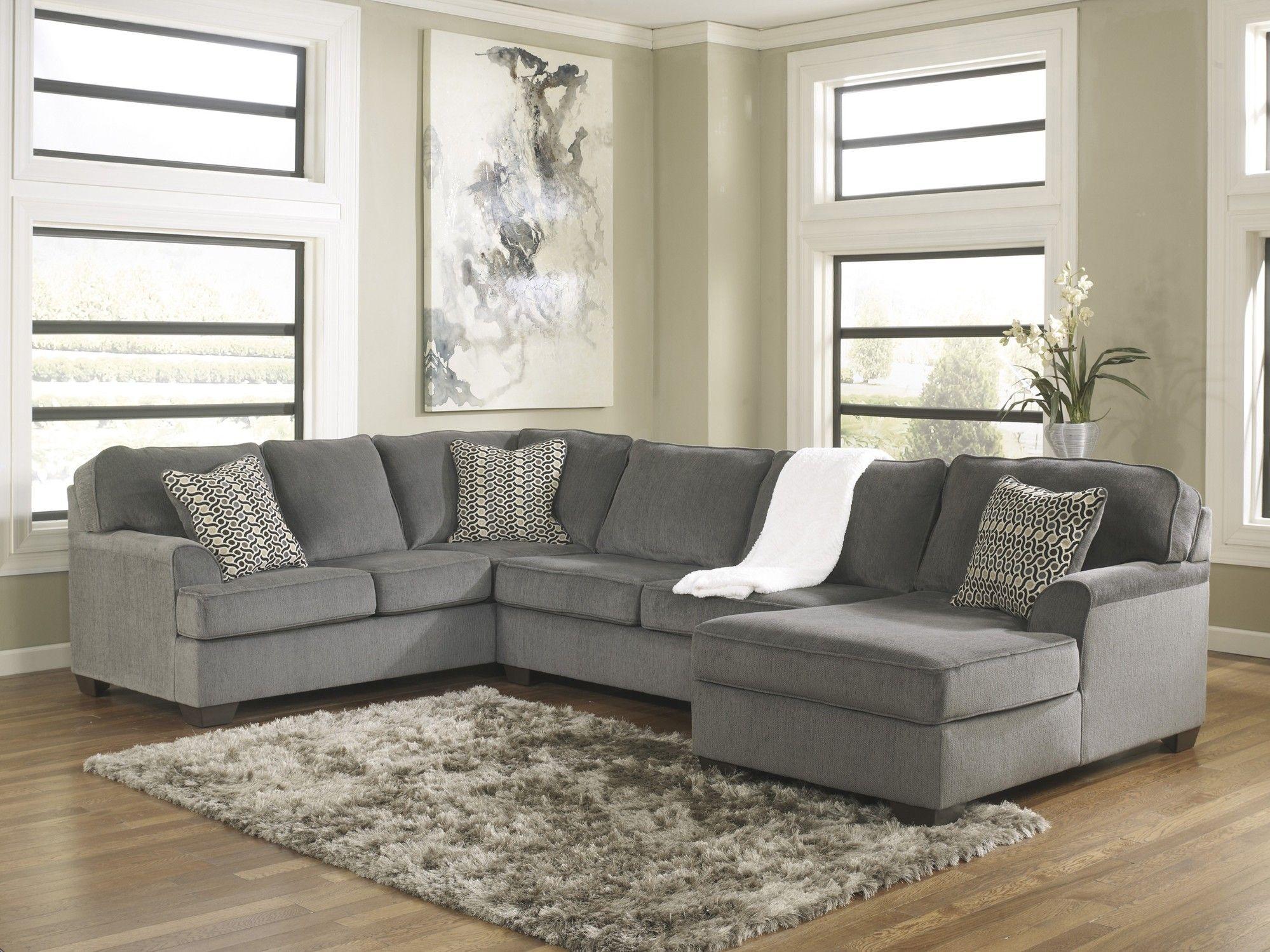 Loric Smoke 3 Piece Sectional Sofa Affordable Furniture Furniture Living Room Furniture