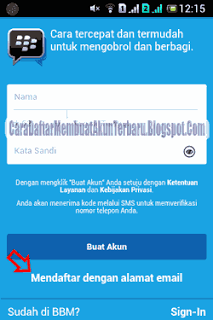 Silahkan Simak Contoh Daftar Bbm Android Yang Ada Disini Pake Email