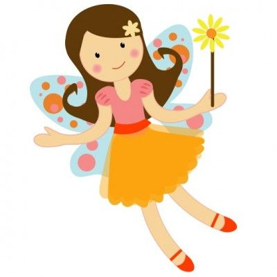 Pretty Garden Fairy Clipart Illustration Graphics 1clipart Rh Com Printable Clip Art Vintage