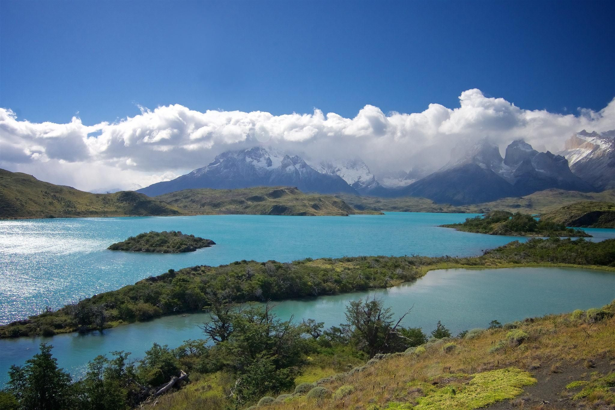 Torres del Paine National Park Patagonia [2048x1365][OC