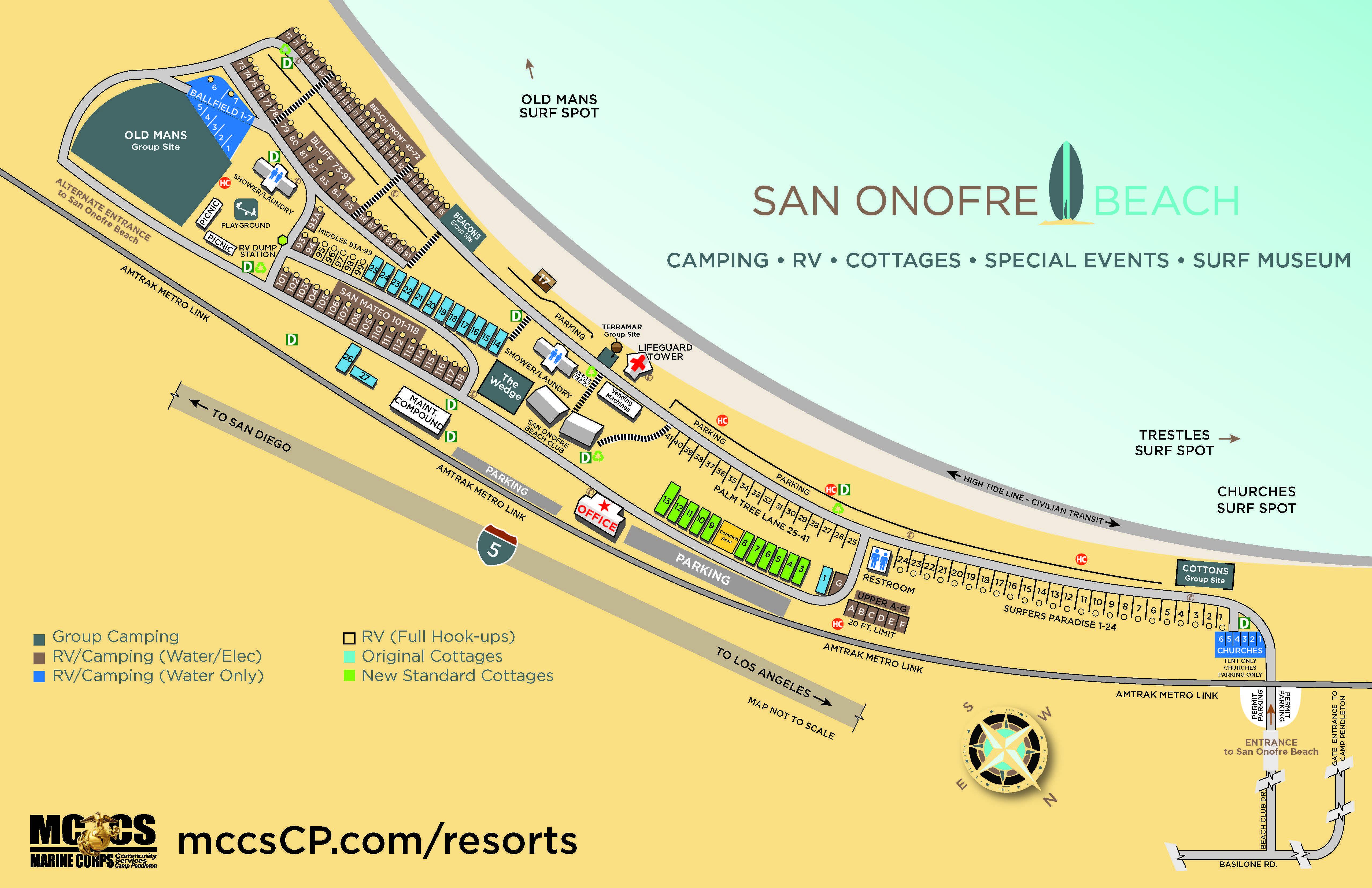 San ofre Beach Cottages — MCCS Camp Pendleton