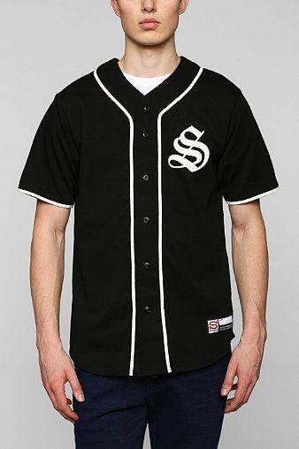 541d5e765 Stussy S Baseball Jersey Tee