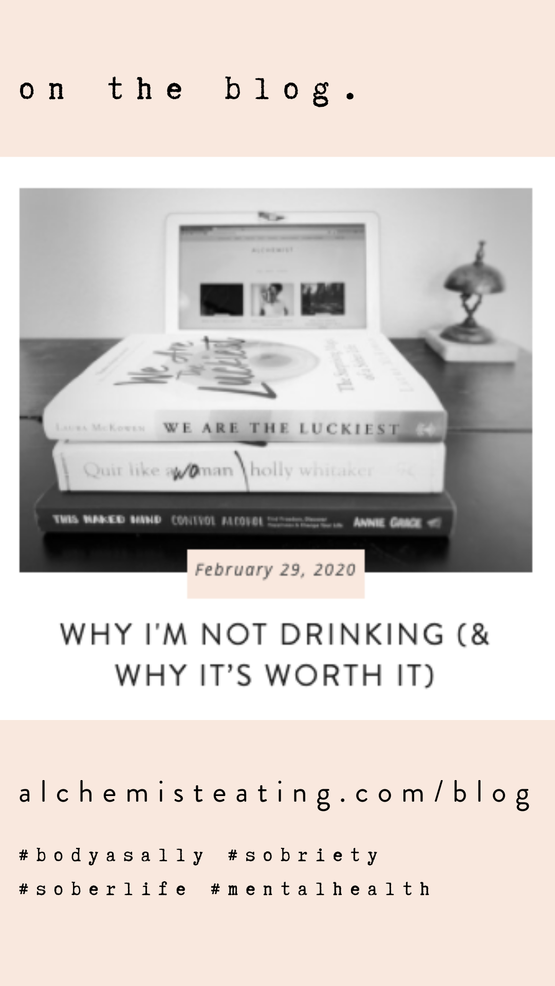 Why I M Not Drinking Why It S Worth It Alchemist Sobriety Sober Life Sobriety Sober Living