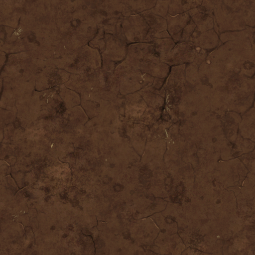 Dirt tile less granular texture  Working Game Board in