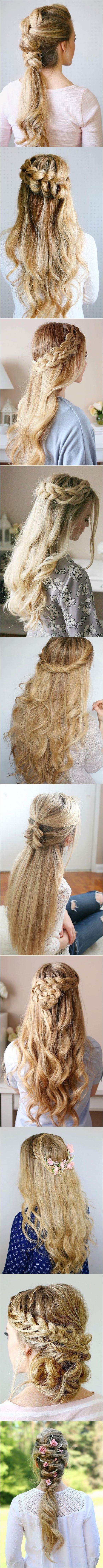 trendy long wedding u prom hairstyles to try in peinados