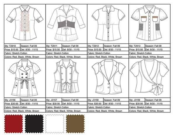 Flats on line sheet | Product Line Development | Pinterest | Dolls ...