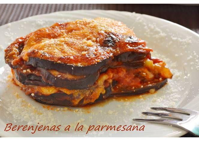 Berenjenas A La Parmesana Thermomix Receta Berenjena A La Parmesana Platos De Verduras Comida