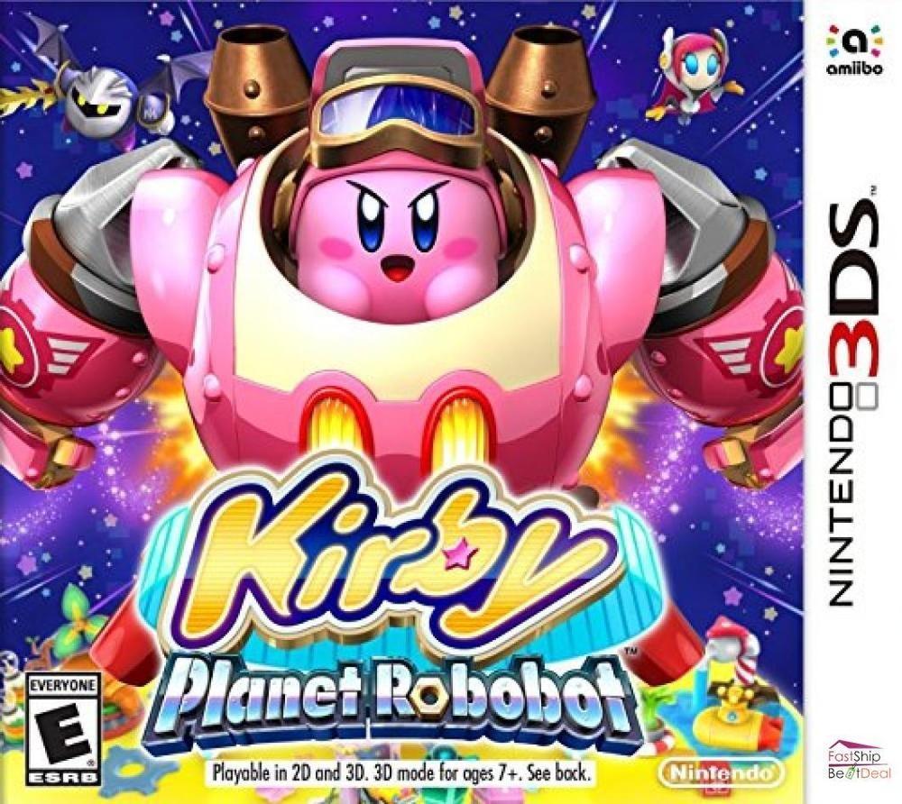 Kirby Games Planet Robobot Nintendo 3ds Standard Edition Nintendo