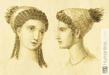 Ancient Greek 1 | Hair | Greek hair, Ancient greek art und ...