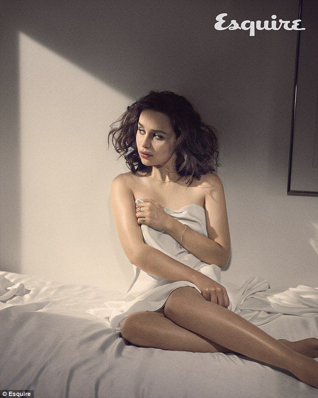 Emilia Clarke Poses Naked For Raunchy New Cover Shoot