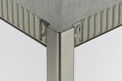 Schluter Rondec Edging Outside Wall Corners For Walls Profiles Schluter Com Tile Edge Bathroom Wall Tile Room Wall Tiles